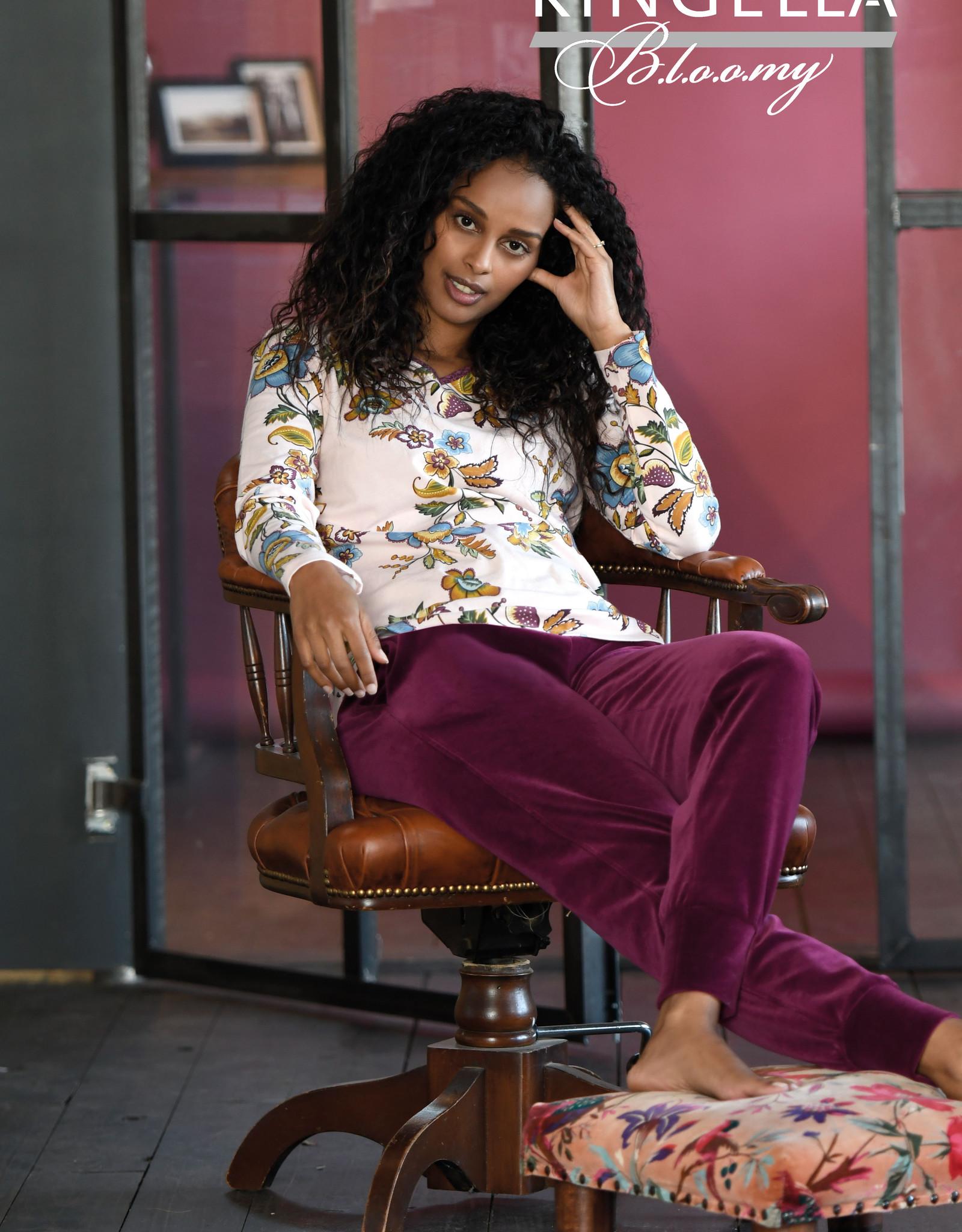 Ringella Pyjama met V-hals