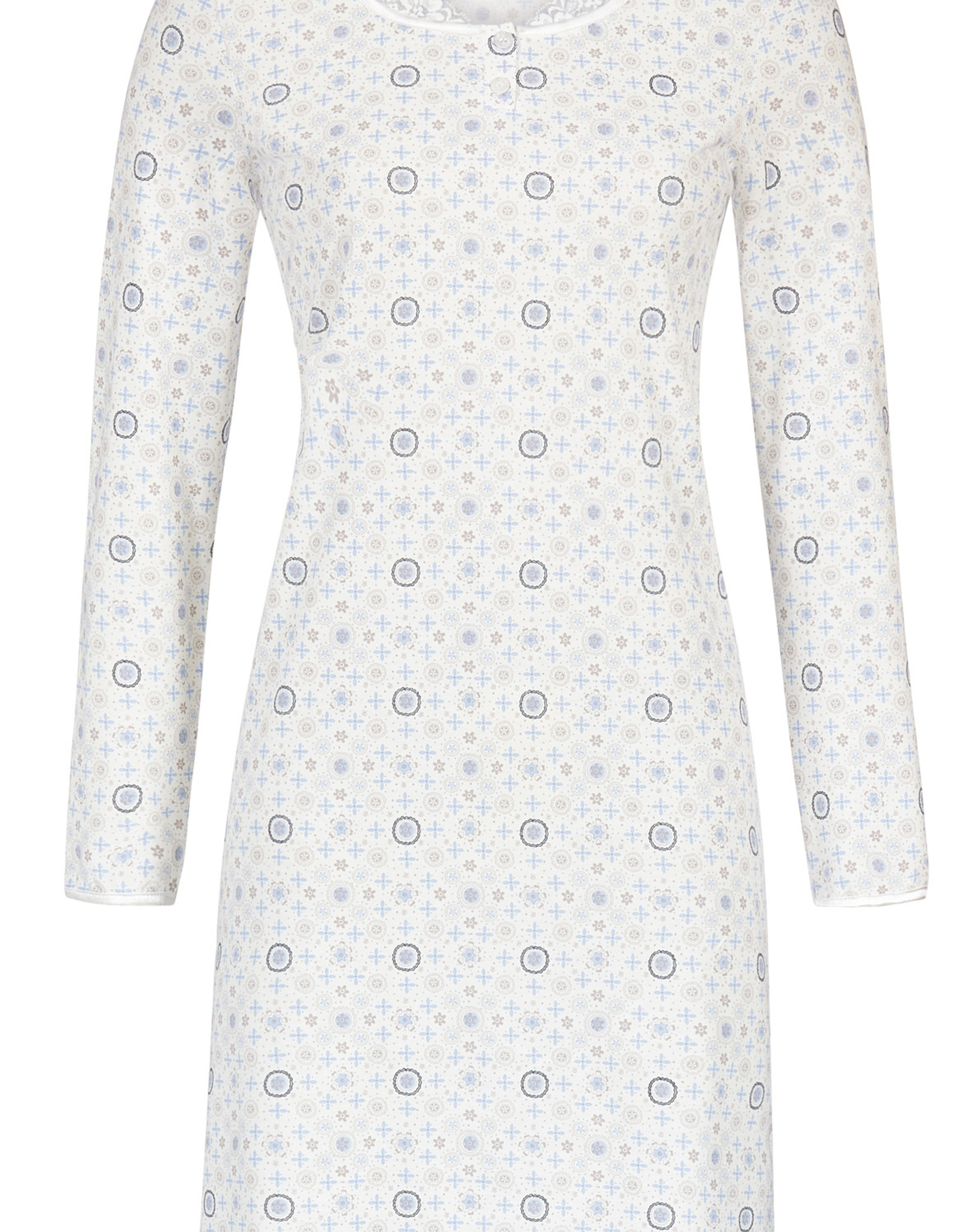 Ringella Dames nachthemd lange mouw, 9511020-226