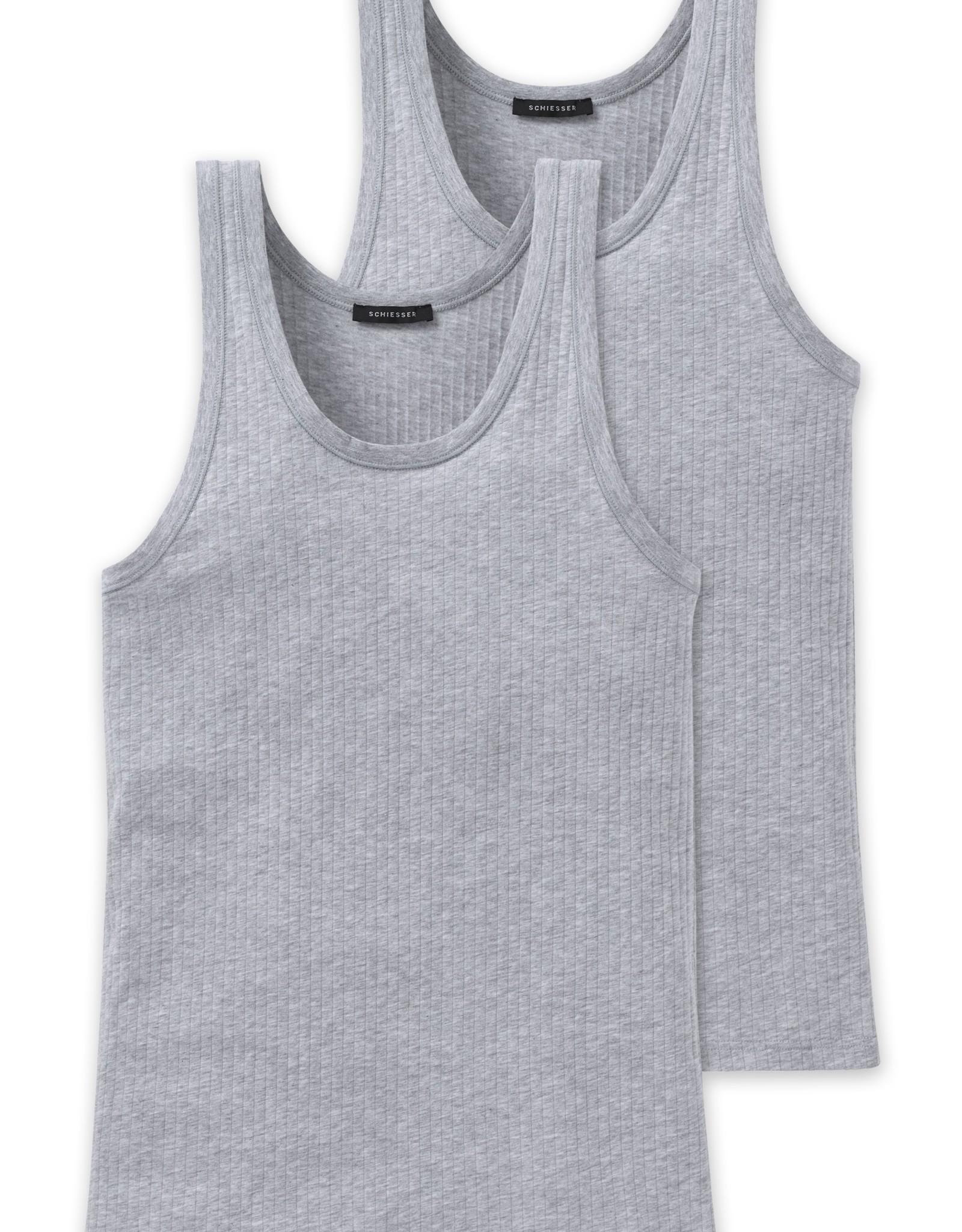 Schiesser Cotton Essentials Authentic Top 2-P, 103401