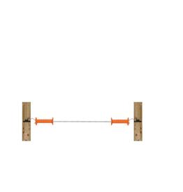 Gallagher Gallagher Doorgangsset elastisch Cord met 2 poortgrepen