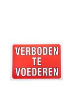 Bord verboden te voederen 829967