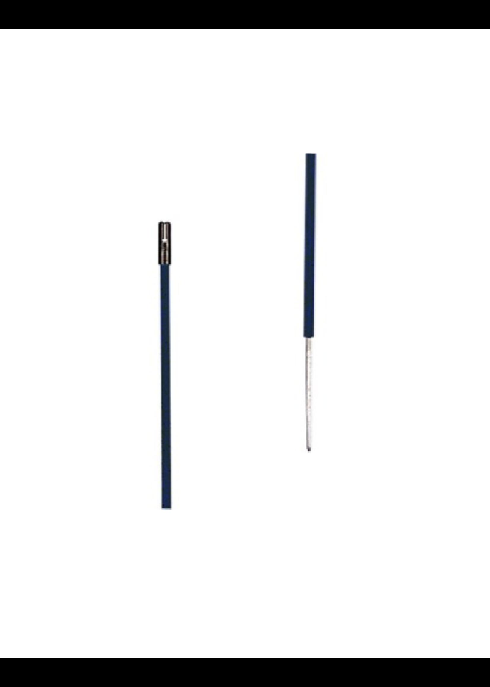 Gallagher Gallagher Kunststof paal zwart, 0,50m + 0,20m pen (10 stuks)