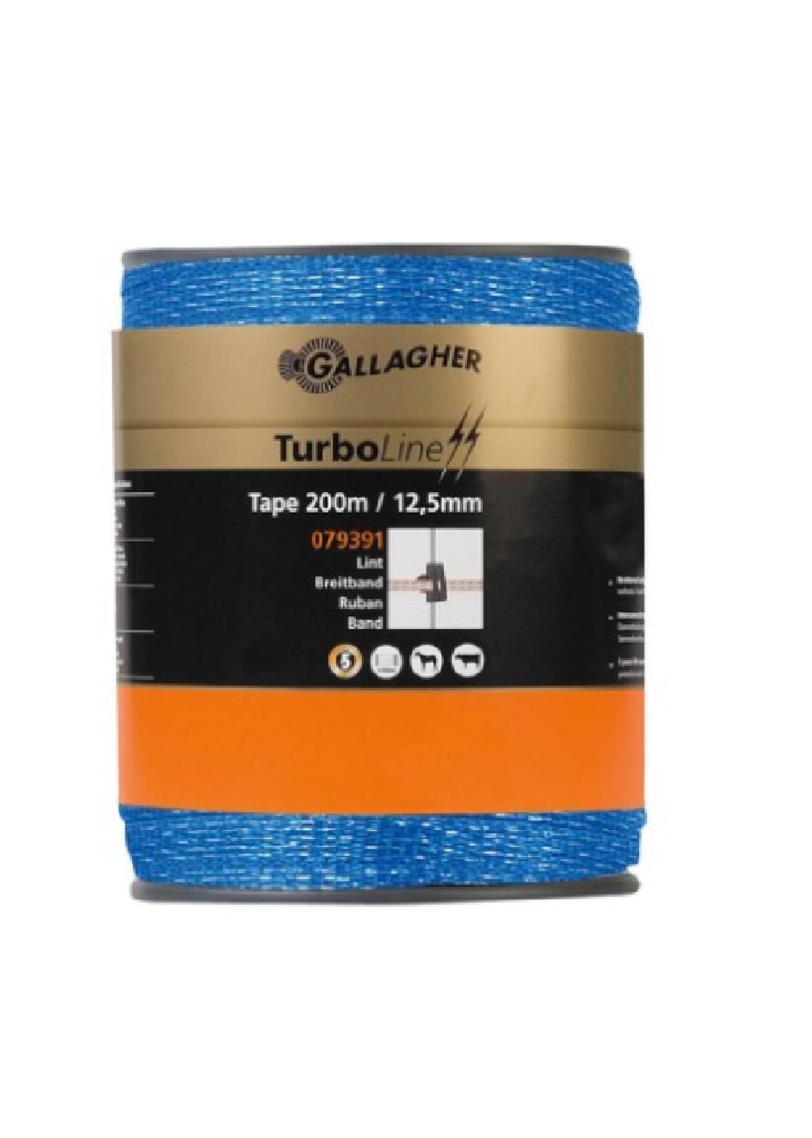 Gallagher Gallagher lint 200m / 12.5mm blauw