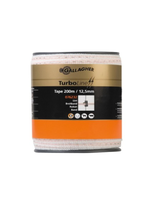 Gallagher Gallagher lint 200m / 12.5mm wit