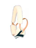 Weaver Leather Weaver Fleece Bontjes v/luchtzuigerband