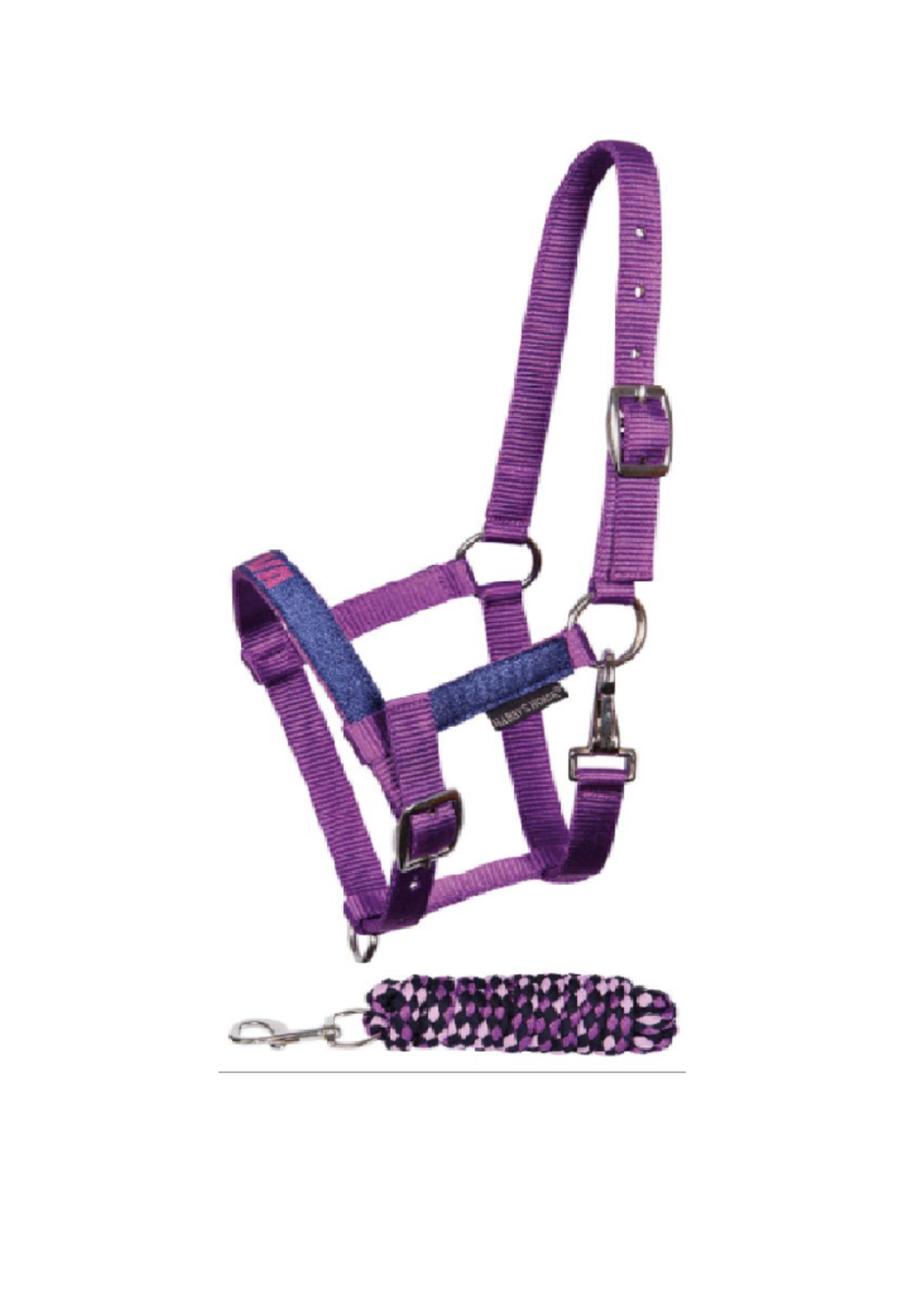 Harry's horse Halsterset Diva Purple