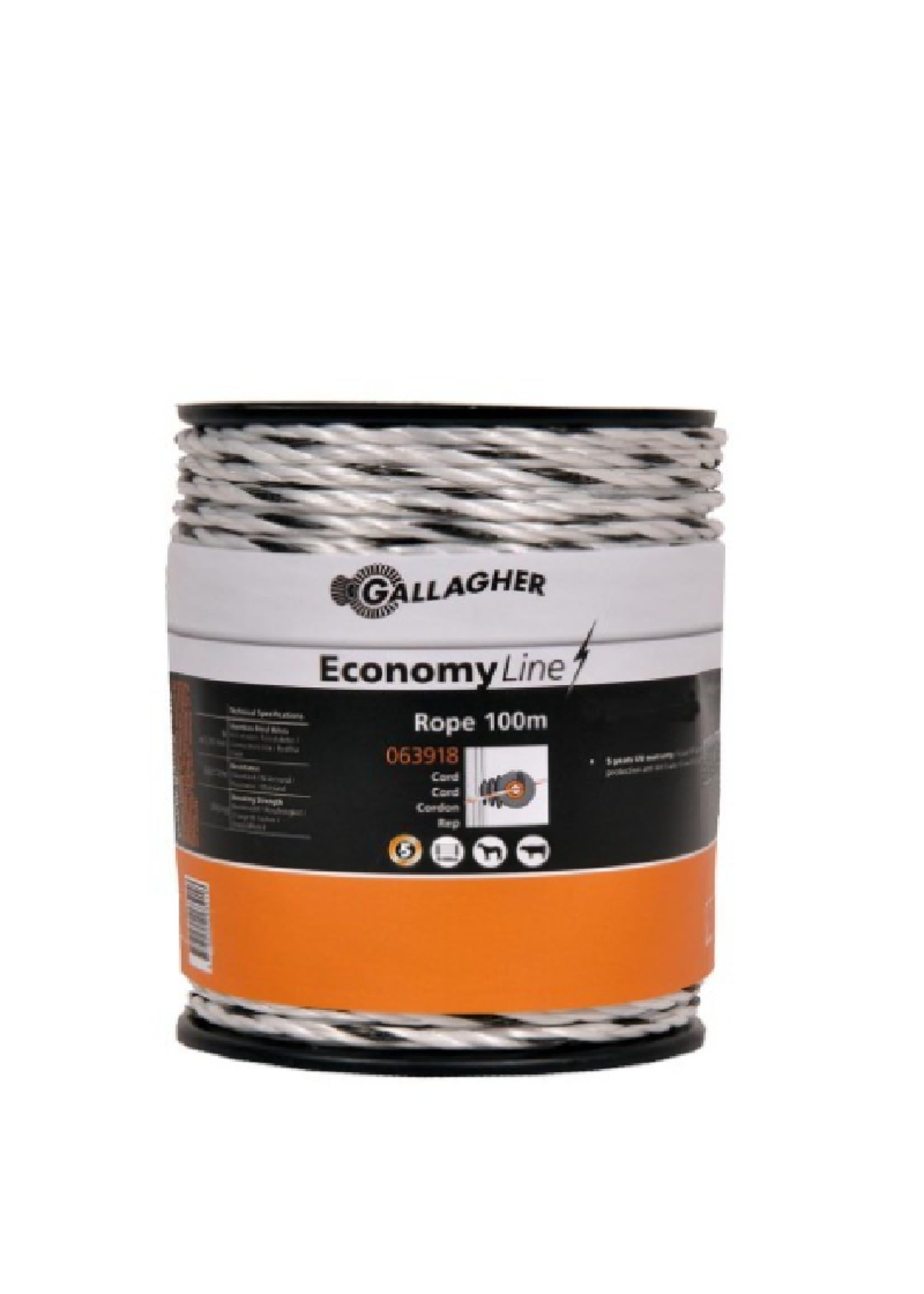 Gallagher Gallagher Economy Line draad) 100m Wit