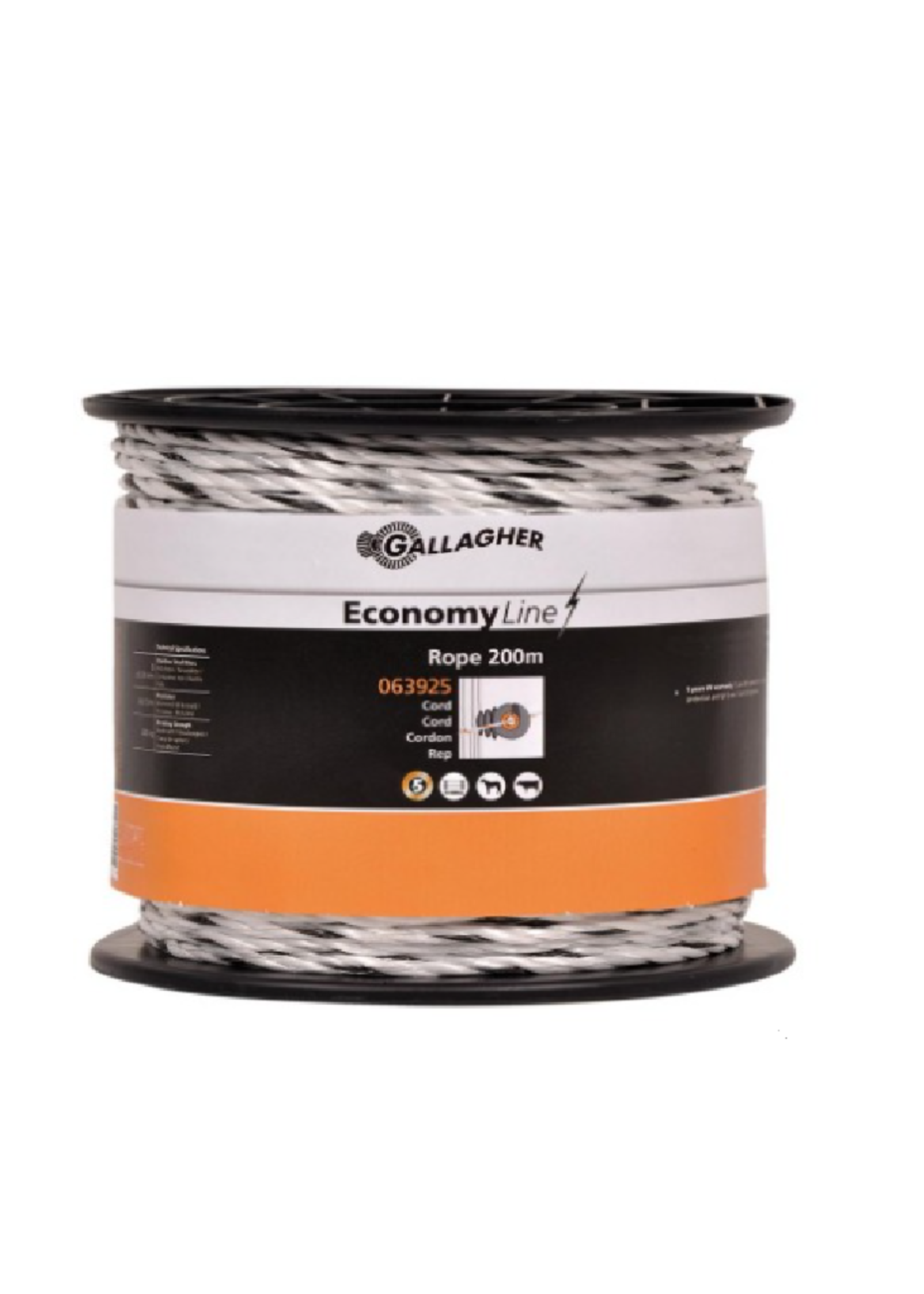 Gallagher Gallagher Economy Line draad 200m Wit