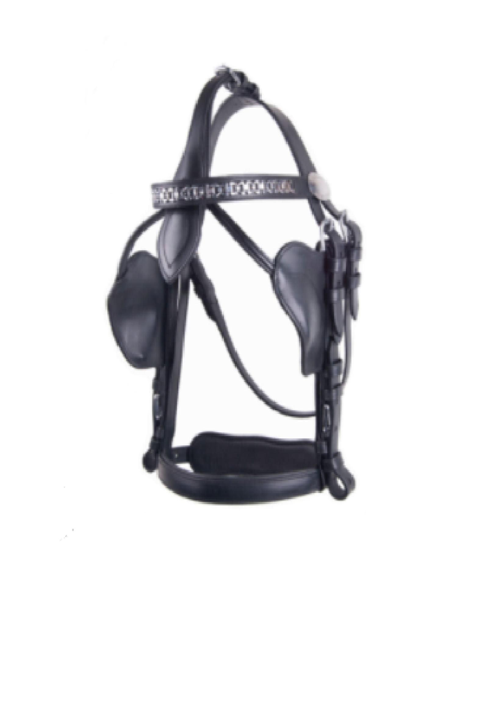 Ideal Ideal Leathertech V/combi Halve Kleppen Hoofdstel