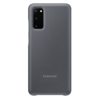 Samsung Galaxy S20 (5G) | Clear View Cover EF-ZG980 | Grijs