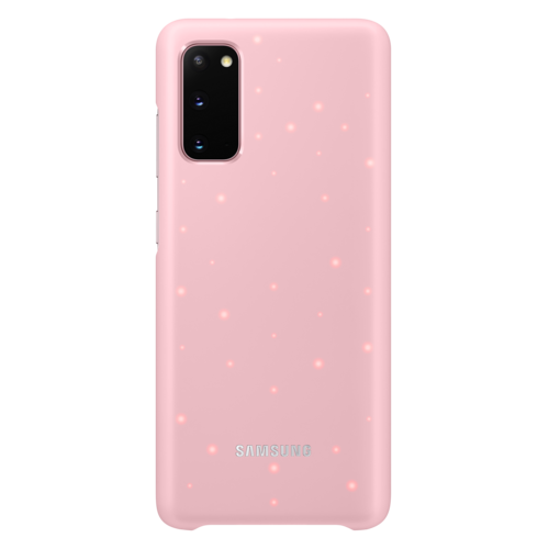 Samsung Galaxy S20 (5G)   Led Cover EF-KG980   Roze