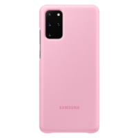 Samsung Galaxy S20 Plus (5G) | Clear View Cover EF-ZG985 | Roze