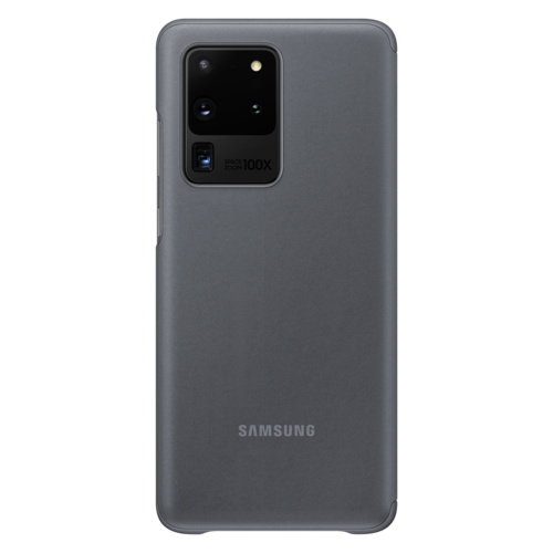 Samsung Galaxy S20 Ultra 5G | Clear View Cover EF-ZG988 | Grijs