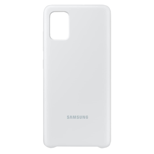 Samsung Galaxy A51   Siliconen Hoesje EF-PA515   Wit