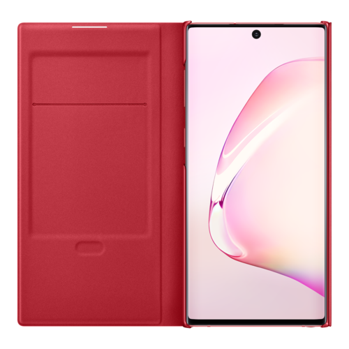 Samsung Galaxy Note 10   Led View Cover EF-NN970   Rood