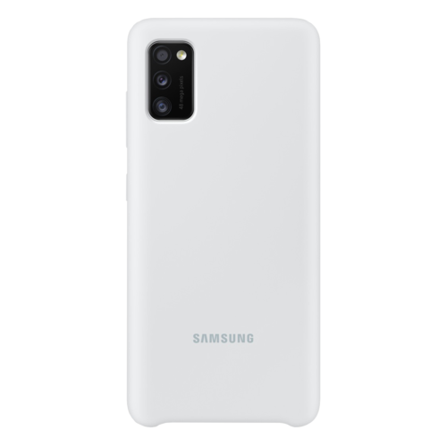 Samsung Galaxy A41 | Siliconen Hoesje EF-PA415 | Wit