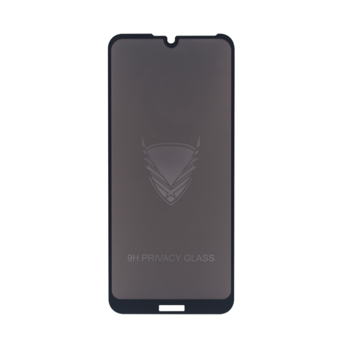 Fe'Nomenal Huawei Y6 2019   Privacy Tempered Glass Screenprotector   Zwart