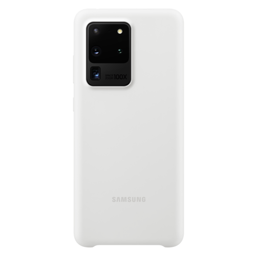 Samsung Galaxy S20 Ultra 5G | Siliconen Hoesje EF-PG988 | Wit