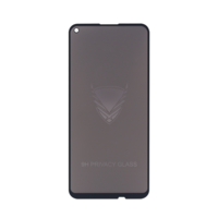 Fe'Nomenal Huawei Y7 Plus 2020   Privacy Tempered Glass Screenprotector   Zwart