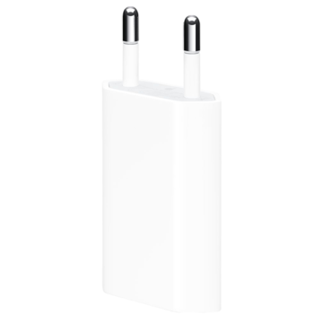 Apple Oplader | 5W USB Adapter Retail | Wit