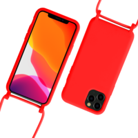 Fe'Nomenal iPhone 11 Pro Max | Backcover met Koord | Rood