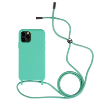 Fe'Nomenal iPhone 11 Pro Max   Backcover met Koord   Turquoise