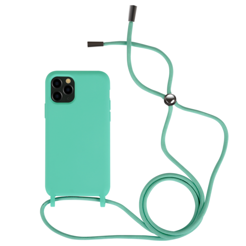 Fe'Nomenal iPhone 11 Pro | Backcover met Koord | Turquoise