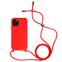 Fe'Nomenal iPhone 11 Pro | Backcover met Koord | Rood