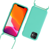 Fe'Nomenal iPhone 11 | Backcover met Koord | Turquoise