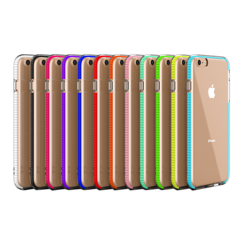 Fe'Nomenal iPhone 6 Plus / 6S Plus | Bumper TPU Hoesje | Wit