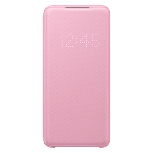 Samsung Galaxy S20 (5G)   Led View Cover EF-NG980   Roze