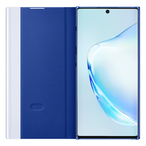 Samsung Galaxy Note 10 Plus | Clear View Cover EF-ZN975 | Blauw