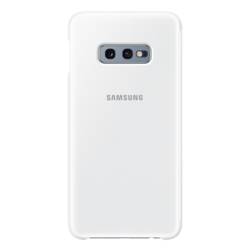 Samsung Galaxy S10e | Clear View Cover EF-ZG970 | Wit