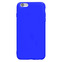 Fe'Nomenal iPhone 6 Plus / 6S Plus | Shiny TPU Hoesje | Blauw