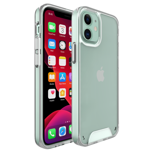 Fe'Nomenal iPhone 12 Mini | Space Hardcase Hoesje | Transparant