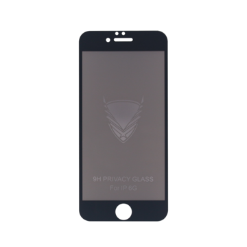 Fe'Nomenal iPhone 6 / 6S | Privacy Tempered Glass Screenprotector | Zwart