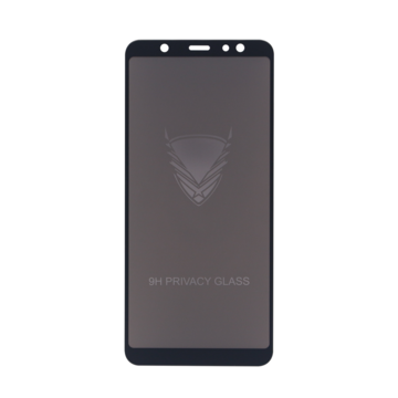 Fe'Nomenal Galaxy A6 Plus | Privacy Tempered Glass Screenprotector | Zwart