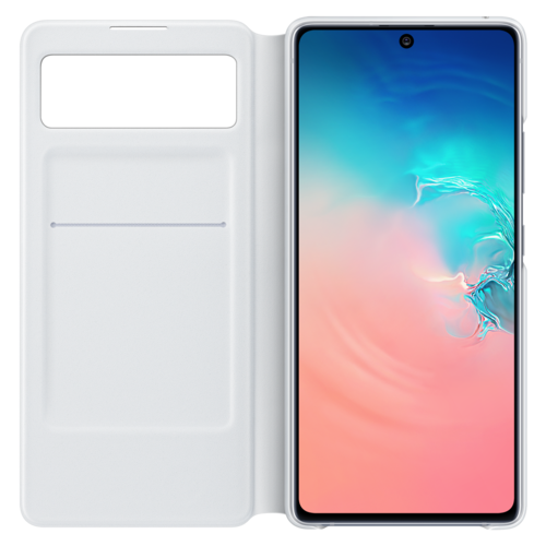 Samsung Galaxy S10 Lite | S View Cover EF-EG770 | Wit