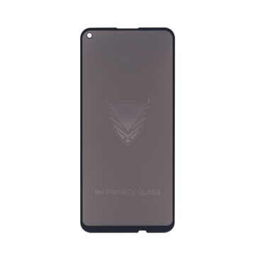 Fe'Nomenal Huawei Y7 Plus 2020 | Privacy Tempered Glass Screenprotector | Zwart