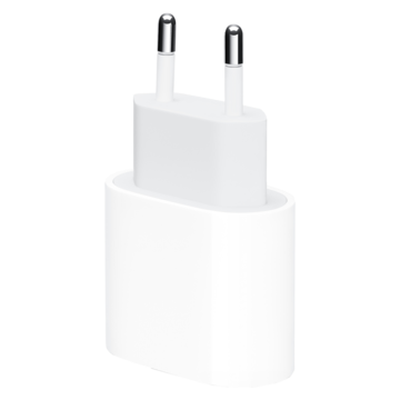 Apple Oplader | 18W USB-C Adapter | Wit