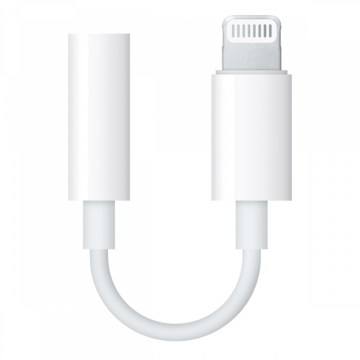 Apple Lightning | naar 3,5mm Jack Adapter | Wit