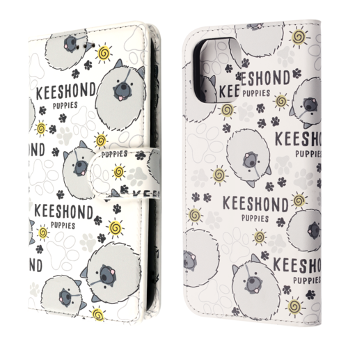 Fe'Nomenal iPhone 12 Mini | Boekhoesje | Keeshond