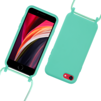 Fe'Nomenal iPhone 7 / 8 / SE 2020 | Backcover met Koord | Turquoise