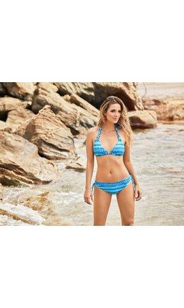 By Magic Hands Boutique Hidalgo halter bikini
