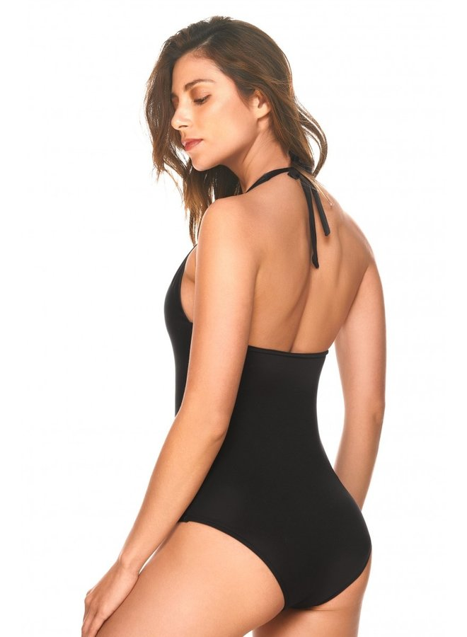 Black luxury bathing suit Amazonas cosita linda swimwear