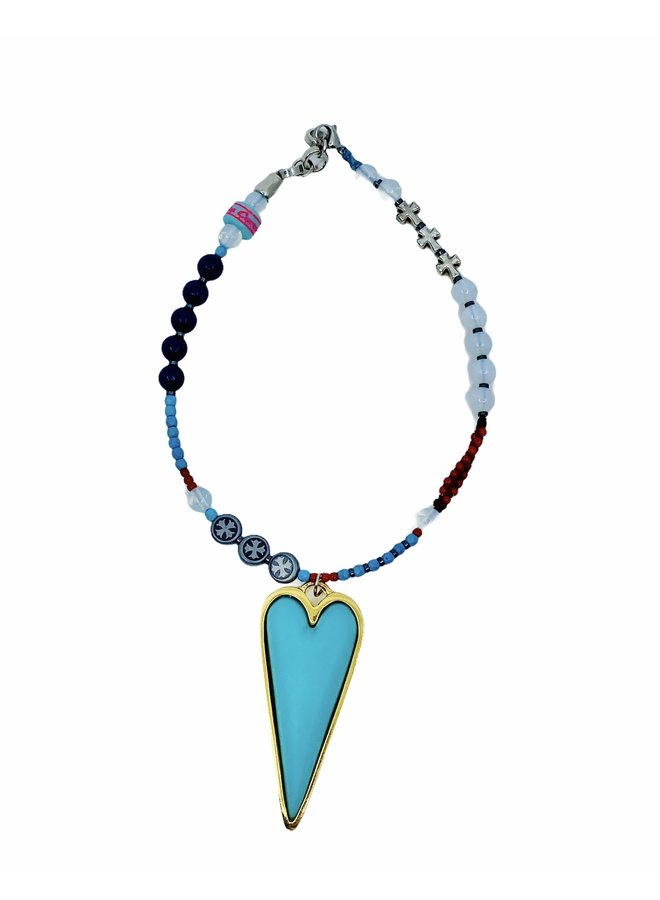 Choker necklace corazon