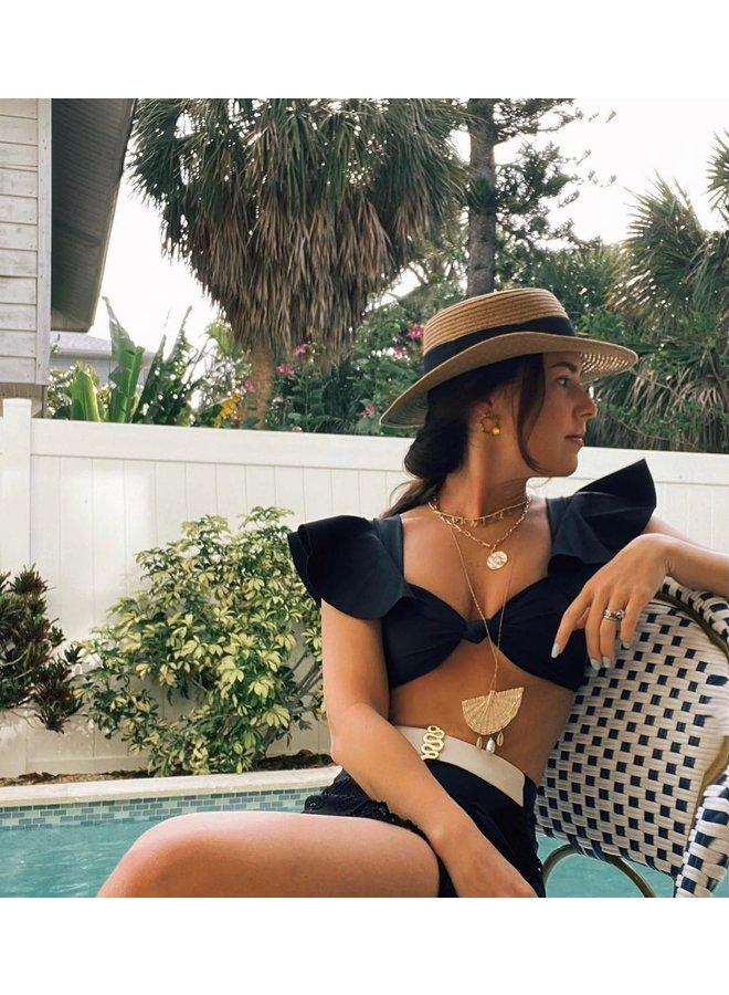 Amelia ruffle bikini