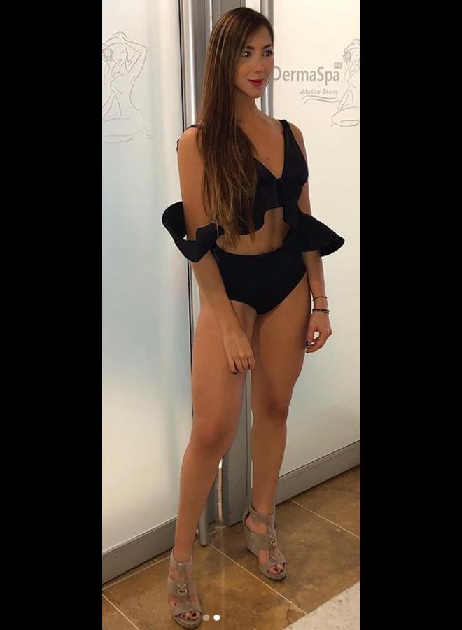 Op zoek naar zwarte  high waist bikini broekjes ?
