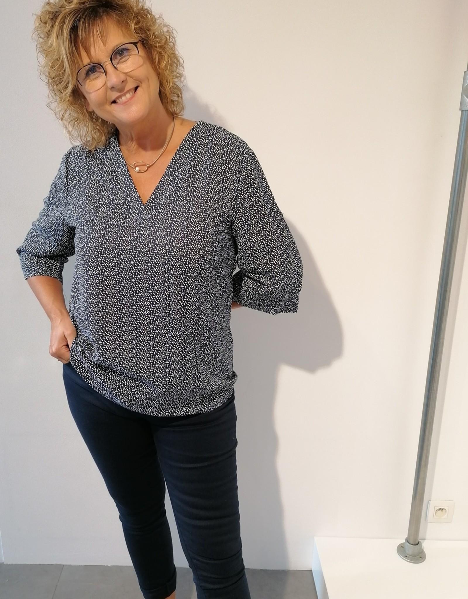 Jeans Annabelle - Bleu marine