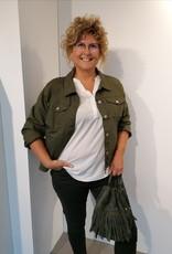 Jeans Annabelle - Kaki foncé